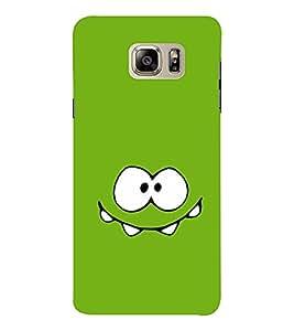 EPICCASE Ugly Green Mobile Back Case Cover For Samsung Note 6 (Designer Case)