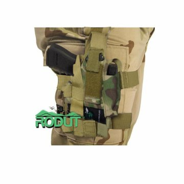 Rodut (TM) Adjustable Right Handed Tactical Leg Holster For Pistol, (Multicam)