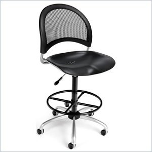 Moon Swivel Chair -Blk Plastic S&B wDKit comforthigh quanlity office computer chair swivel lift ergonomic chair
