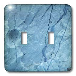 Kike Calvo Arctic - Icebergs from Greenland, drifting on Iceberg Alley Baffin Bay Baffin Island High Arctic Canada - Light Switch Covers - double toggle switch
