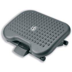 Compucessory Footrest Tilting Adjustable H95-170mm W450xD340mm Charcoal Ref CCS23751