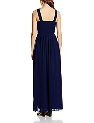 Little Mistress Women's Embellished Empire Maxi Dress