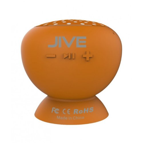 Lyrix Jive Bluetooth Speakers - Retail Packaging - Orange