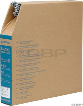 Buy Low Price Shimano Stainless Steel Road Brake Cable Box of 100 (1.6x1700mm) (Y80098531)