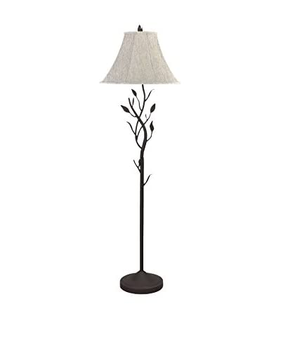 Bristol Park Lighting Hand Forged Iron Table Lamp, Black