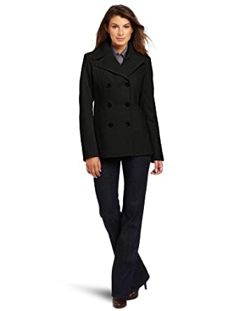 Anne Klein Women's Alicia Wool Coat羊毛大衣 $99.99