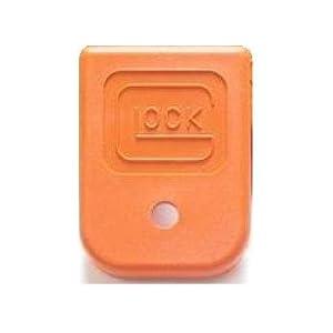 Glock Factory OEM Orange Magazine Base Floor Plate for 9mm .40 .357 .380 Auto .45 GAP Mags - SP01294 (Single Piece Bulk Packaged)