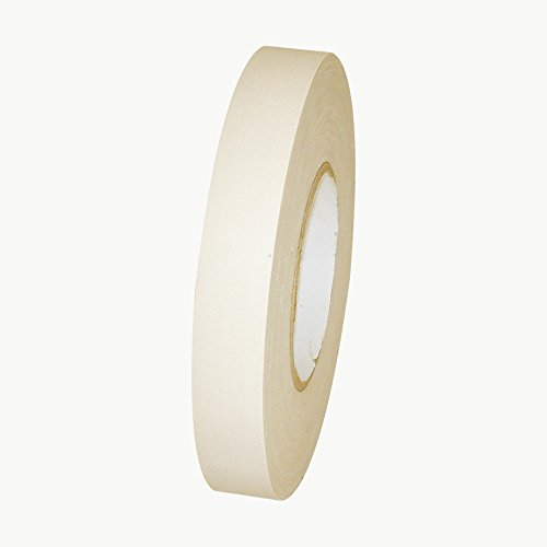 jvcc-j90-low-gloss-gaffer-style-duct-tape-1-in-x-60-yds-white