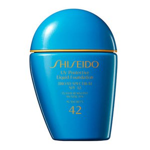 Shiseido UV Protective Liquid Foundation - # SP40 Medium Ivory 30ml