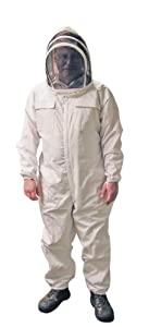 MANN LAKE Professional Beekeeper Suit with Self Supporting Veil, 3X-Large from Mann Lake