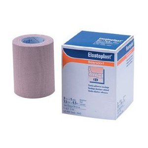 Elastoplast Tan Athletic Tape 2x 5 yards (24 Rolls Per Case) by Wound Care