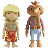 Bob the Builder 2 Figure Pack - Spud and Brad Rad