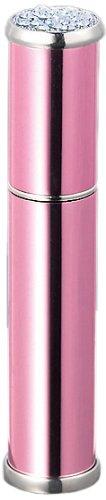 ヤマダアトマイザー メタルアトマイザー メタルポンプ 30125 15mm径 ピンク ラインストーン20石 3.5ml