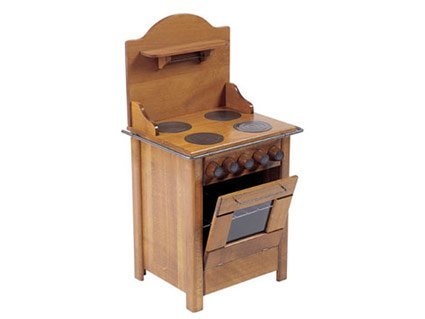 Moulin Roty Toys of Yesterday wooden stove