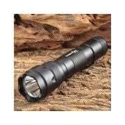 FANDYFIRE WF-502B 650lm 1-LED Cool White Light 5-Mode Flashlight - Black (1 x 18650) Black