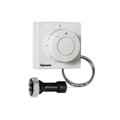 2802-00.500 Thermostat-Kopf F mit Ferneinsteller mit eingebautem Fühler, Kapillarrohr 2 m