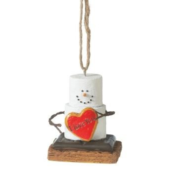S'Mores I Love You Christmas Ornament