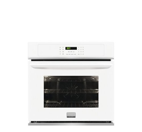 "Frigidaire Fgew2765Pw Gallery 27"" White Electric Single Wall Oven - Convection back-136111"