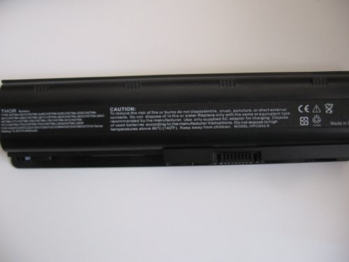 Thor Brand Replacement 6 Room Battery Pack for Hp Pavilion Laptop Computer Pc Dv7-6123cl Dv7-6153nr Dv7-6154nr Dv7-6156nr Dv7-6157cl Dv7-6166nr Dv7-6168nr Dv7-6169nr Batterypack