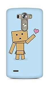 Amez designer printed 3d premium high quality back case cover for LG G3 (Cute Cartoon 3)