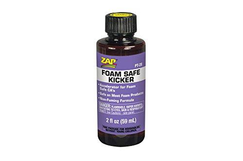 Pacer Technology (Zap) Foam Safe Kicker, 2 oz (Ca Glue Foam Safe compare prices)