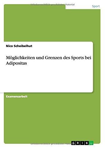 Moglichkeiten Und Grenzen Des Sports Bei Adipositas (German Edition)