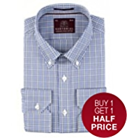 Sartorial Luxury Pure Cotton Classic Checked Shirt