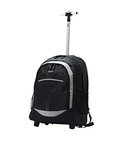 Olympia 19-Inch Rolling Backpack, Black