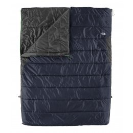 Buy The North Face Dolomite Double 20 -7 Sleeping Bag - Right Hand Zip - Striker Blue Zinc Grey Regular by The North Face
