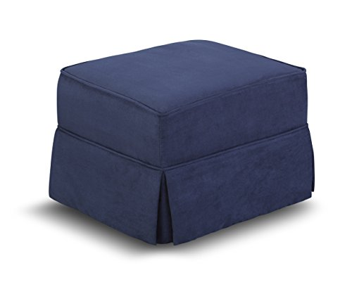 Lane Kids Universal Upholstered Ottoman, Royal Blue