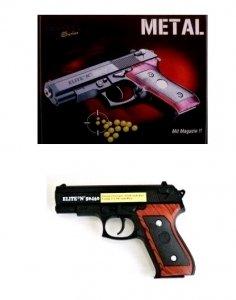 Elite Series - Jeu de Tir - Pistolet Métal à Billes