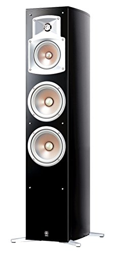 Yamaha-NS-555-Stand-Lautsprecher-System-3-Wege-Bassreflex-Waveguidehorn-100W-klavierlackschwarz-Stck