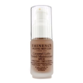 Eminence Caramel Latte Tinted Moisturizer Spf 25 (Light To Medium), 1.2 Ounce