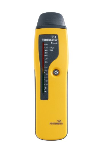 Damp Meter Protimeter Mini Feuchtigkeitsmesser Bereich Analog ** UK-Stecker mit Adapter geliefert **
