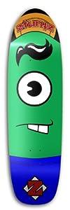 Buy ZtuntZ Skateboards Bucktee Plankton Old School Skateboard Deck, 8.50 x 32-Inch 14.5-Inch WB, Green Purple Black White by ztuntz skateboards