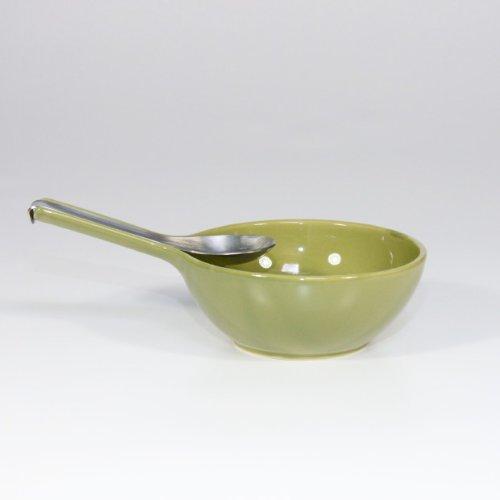 Bols et cuillères 2 Pièces Vert Olive