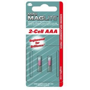 Mag Instruments #LM3A001 2PK AAA Krypton Lamp
