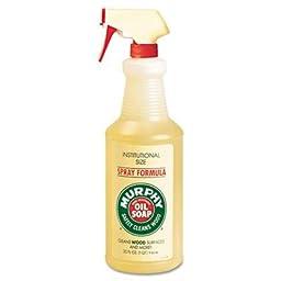 Murphy Oil Soap Soap For Commercial Market, 32Oz Spray Bottle, Case of 2 Packs