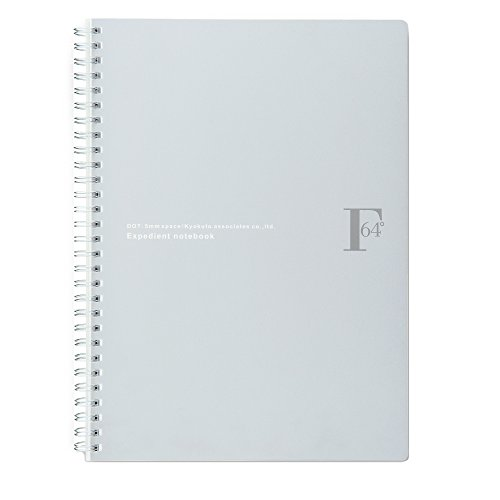 kyokuto-fob-coop-w-ring-notebook-b5-dot-grid-silver-office-product