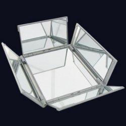 アイコスメ専用ミラー シルバー中 5面鏡