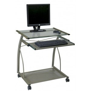 Buy Low Price Comfortable Office Star Orion Computer Cart in Champagne Frame Finish – ORN205CP (B003WREKG8)