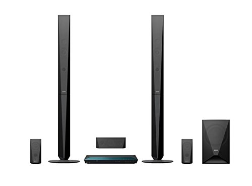 Sony BDVE4100 3D WiFi Blu-ray 1000w 5.1 Home Cinema System with tall rear speakers
