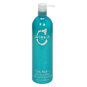 Catwalk Curls Rock Curly Hair Conditioner, 25.36-Ounces