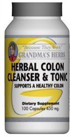 Herbal Colon Cleanser & Tonic - All Natural Cleanse - 100 Capsules