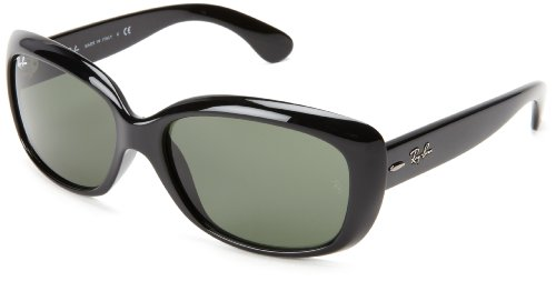 Ray-Ban Women's 4101 Jackie Ohh Sunglasses,Black Frame/G-15 XLT Lens,60 mm Reviews