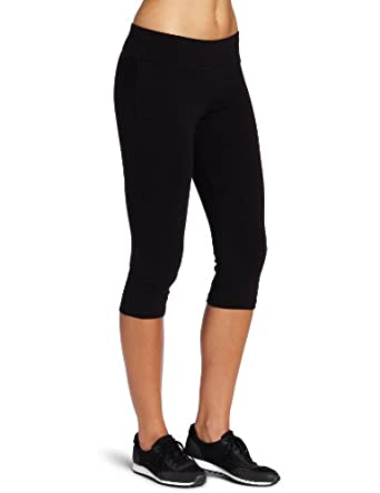 Spalding Women's Capri Legging, Black, Small