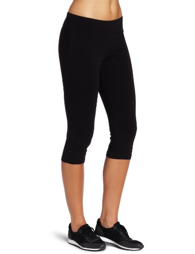 Spalding Women's Capri Legging, Black, Medium