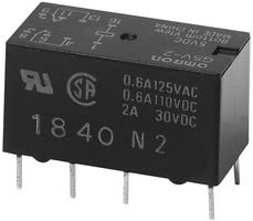 Omron Electronic Components G5V-2-H1 Dc5 Signal Relay Dpdt 5Vdc, 1A, Through Hole (5 Pieces)