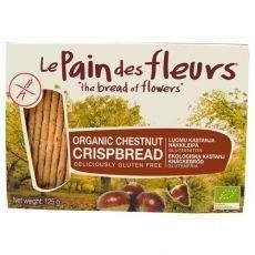 Le Pain des Fleurs Org Chestnut Crispbread 125g x 1