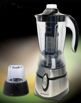 Frigidaire FD5155F Stainless Steel Blender with Filter & Grinder 220-240 Volt/ 50-60 Hz, OVERSEAS USE ONLY, WILL NOT WORK IN THE US (Blender Filter compare prices)